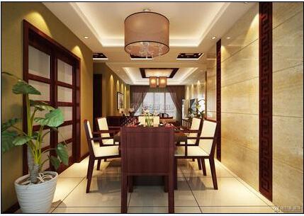 室内照明工程-餐厅照明——高显色性的灯光