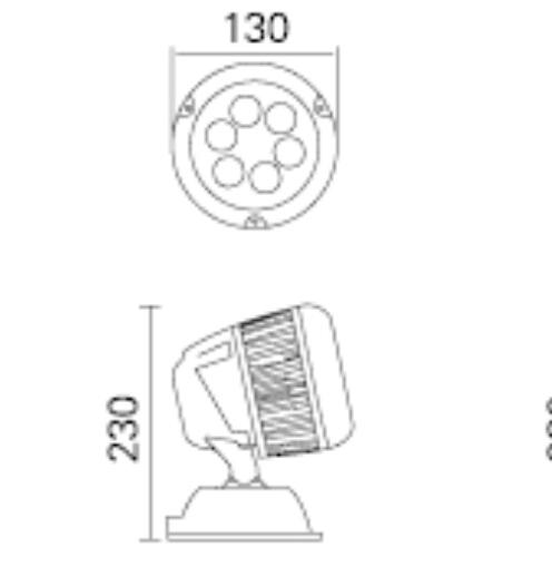 调光解码器与led灯具整合成一体化设计   a:减少了外部控制系统接线及